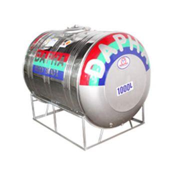 Bồn inox dapha 500 lít ngang xuất khẩu